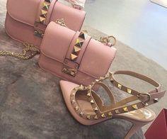 Chloe bag , Valentino heels