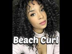 Curly Crochet Braids, Crochet Braids Hairstyles, Crochet Hair Styles, Curled Hairstyles, Weave Hairstyles, Crochet Style, Beach Braids, Beach Curls, Beach Wave Hair