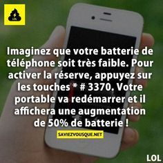 Saviez Vous Que? C& un bon truc çà . a essayer . E Mc2, Lol, Things To Know, Good To Know, Just In Case, Helpful Hints, Affirmations, Fun Facts, Life Hacks