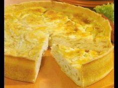 Receta: Tarta De Cebolla (Muy Facil Y Rica) - Silvana Cocina Y Manualidades - YouTube