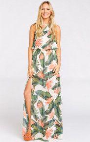 Heather Halter Dress ~ Paradise Found