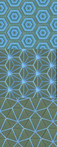 Emery & cie - Fr - Quoi - Carrelages - Ciment - Et C'est Nouveau - Automne 2013 - Hexagones Geometriques