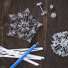 """<p><br /> Create a winter wonderland with our<a href=""""https://whimseybox.com/shop/diy-mini-quilled-snowflake-kit"""">mini quilled snowflake kit..."""