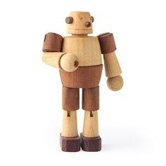wonderful wooden bot!