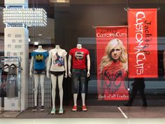 Window Display at StyleXchange in Rockland Center, Montreal