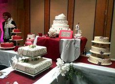Hochzeitstorten in allen Formen und Farben