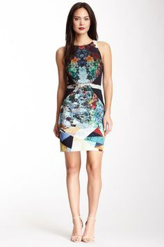 Nicole Miller Cassie Gilded Nature Powernet Dress by Non Specific on @HauteLook