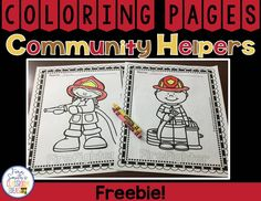 Fern Smith's FREE Coloring Pages For Community Helpers