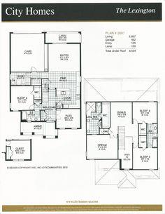 Windermere Terrace City Homes Lexington Floor Plan in Windermere FL