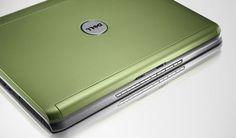 Green Laptop