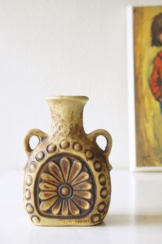 Mid Century Design, Pottery, Ceramics, Vases, Etsy, Germany, Inspiration, Vintage, Beautiful