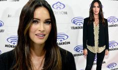 Megan Fox heats up WonderCon with a glimpse of cleavage