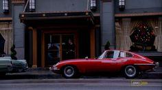 Jaguar E-type on Mad Men