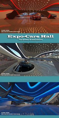 AJ Expo-Cars Hall