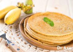 coconut banana crepes, Dr. Axe Recipes