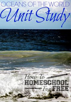 Teach your children all about the oceans of the world with this FREE Oceans of the World unit Study! Science Lessons, Science For Kids, Science Crafts, Teaching Science, Earth Science, Kids Educational Crafts, Educational Websites, Homeschool Curriculum, Homeschooling Resources