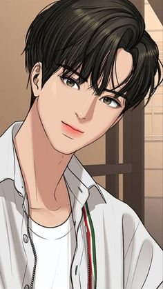 Beauty Web, True Beauty, Pretty Anime Girl, Anime Art Girl, Anime Korea, Girl Cartoon Characters, Handsome Anime Guys, Webtoon Comics, Digital Art Girl