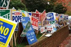 How yard signs can get your business noticed.