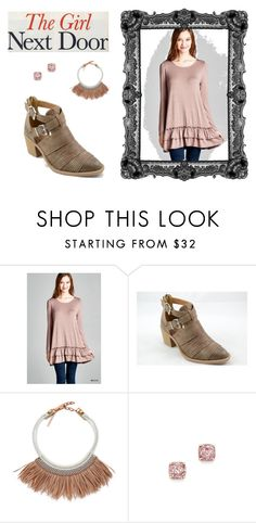 """""""Rose Gold Style"""" by knittedbelleboutique on Polyvore featuring Fiona Paxton and Kate Spade"""