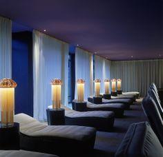 La Reserve Geneve Hotel and Spa (Canton of Geneva, Switzerland) Spa Interior, Interior Design, Geneva Hotel, Spa Lighting, Spa Hotel, Beauty Salon Decor, Reserve, Relaxation Room, Best Spa