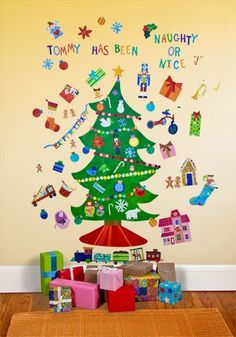 Happy Holidays Peel & Place Wall Stickers