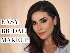 Bridal Inspired Makeup Tutorial - YouTube
