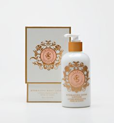 8 oz lotion ~ Soft and sensual, our nutrient rich lotion restores optimum moisture balance to the skin, yet feels light to the touch allowing your skin to breathe freely! Paraben free.
