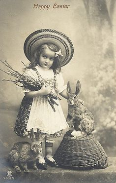 1910 Easter Card by ShutterlyHappy, via Flickr