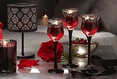 Falling in love with the new Forbidden Boudoir Candle Lamp and Trio! #PartyLite #candles #romantic #datenight   www.partylite.biz/cindytokich