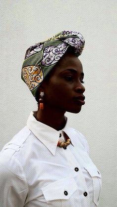 Island Girl African Head Wrap