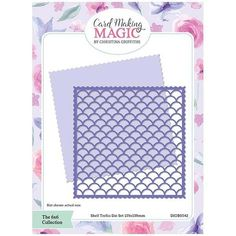 Card Making Magic Die Set Shell Trellis | 6x6 Collection by Christina Griffiths