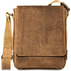 Show them you're ready for anything with this rugged flapover-style Arizona Rustic Buffalo Leather Hunter Camo Crossbody Satchel from Jack Georges. Handcrafted from uncorrected full grain buffalo leat