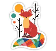 Fox: Stickers | Redbubble