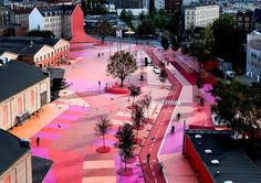 Superkilen, Copenhagen, Denmark http://designmuseum.org/exhibitions/2013/designs-of-the-year-2013