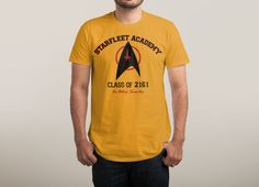 Check out the design Starfleet Academy by Carlos on Threadless