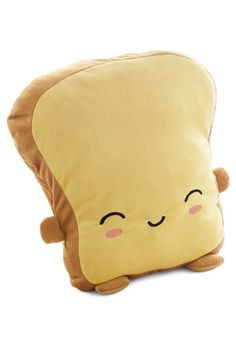 Crust Be Dreaming USB Warming Pillow, #ModCloth Powered by USB cord, this cute pillow keeps you warm!
