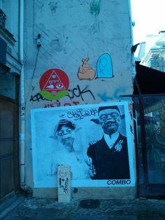 Near Beaubourg, Paris