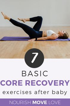 7 Exercises for Postpartum Recovery +Diastasis Recti Are you wondering about the best post-baby ab workouts? Grab this best post-pregnancy ab workout to help you get fit after baby! Pregnancy Abs, Post Pregnancy Workout, After Pregnancy, Post Baby Ab Exercises, Belly Exercises, Core Exercises, Post Baby Abs, Belly After Baby, Diastasis Recti Exercises