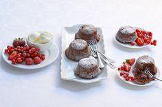 Smeltende chocoladecakejes - Recept - Allerhande