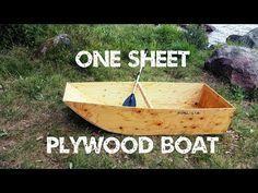 One Sheet Plywood Boat Plywood Boat Plywood Boat Plans Boat Plans