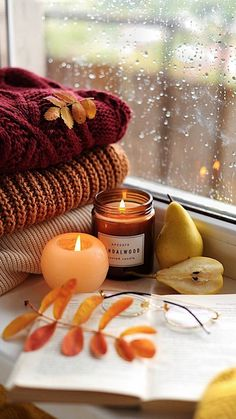 Cute Fall Wallpaper, Autumn Cozy, Screen Wallpaper, Disney Wallpaper, Fall Pumpkins, Candle Jars, Candles, Fall Season, Planner Stickers
