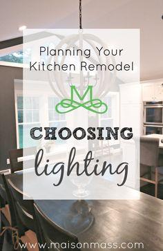 Good kitchen lightin