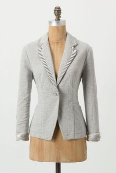 I love blazers, they are so versatile! One can dress them up with a pencil skirt, pair it with your favorite boyfriend cropped jeans and a gladiator heel!! Staples in my wardrobe in numerous colors!