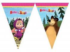 Deco anniversaire Masha et Mishka - Thema Deco. Masha Et Mishka, Marsha And The Bear, Thema Deco, 2nd Birthday, Birthday Parties, Sofia Party, Bear Theme, Bear Party, Bear Cartoon