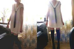 Best minimalistic sailor dress from Gina Tricot.    #fallintofashion14 and #mccallpatterncompany