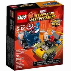 Lego 76065 Mighty Micros Captain America Red Skul - $ 599,99