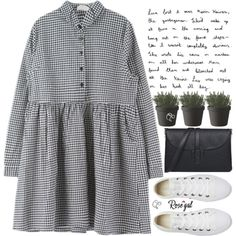 everyday may not be a good day, but there is good in every day by exco on Polyvore featuring polyvore, fashion, style, Converse, Muuto, clothing, clean, organized and rosegal
