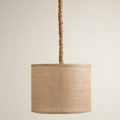 Jute Rope Electrical Cord Swag Kit