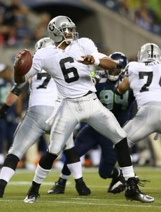 Terrelle Pryor and Carson Palmer to fight for starting position next season. Read more!