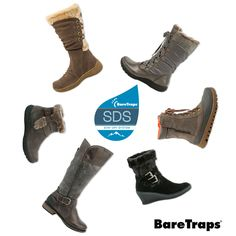 BareTraps SDS boots cold weather boots with weatherproofing technology is on sale now!  Keep your feet warm and cozy dry all winter long!